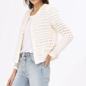 IRO startle jacket, tweed jacket